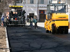 Асфальтирование улиц в Краснодаре